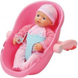 BABY born® My Little BABY born ® Super Soft s prenosnou sedačkou