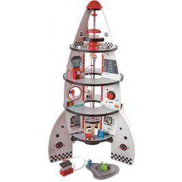Hape Toys Štvorposchodová vesmírna raketa