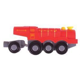 Bigjigs Rail Elektrická lokomotíva Flying Scotsman červená