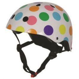 Kiddimoto Cyklistická prilba Dotty - farebná, veľkosť M