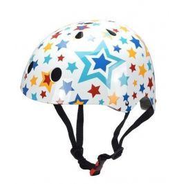 Kiddimoto Cyklistická prilba Stars - farebná, veľkosť M