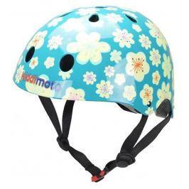 Kiddimoto Cyklistická prilba Fleur - modrá, veľkosť M