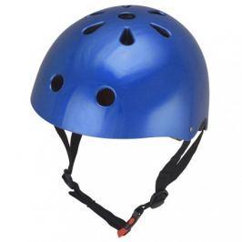 Kiddimoto Cyklistická prilba Mettalic Blue, veľkosť M