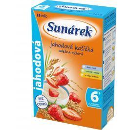 Sunárek jahodová kašička mliečna 225g