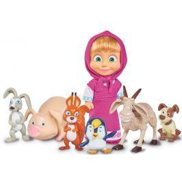 Simba Máša a medveď - Bábika Máša a jej zvierací kamaráti