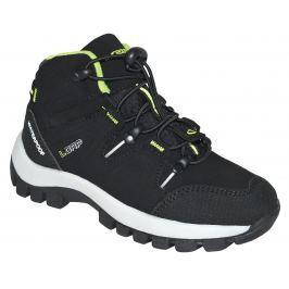 LOAP Chlapčenské outdoorové topánky Tarby - čierne