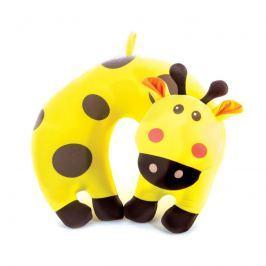 Spokey BAMBINI Detský cestovný vankúšik žirafa