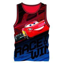 Disney by Arnetta Chlapčenské tielko Cars - farebné