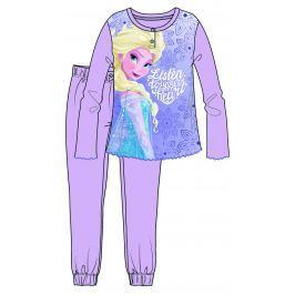Disney by Arnetta Dievčenské pyžamo Frozen - fialové