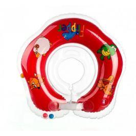 Teddies Plávací nákrčník Flipper od 0 mesiacov, červený