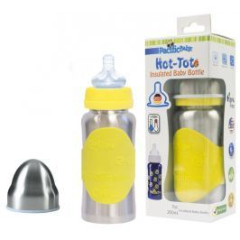 Pacific Baby Hot-Tot Termoska 200ml, žltá / strieborná