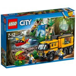 LEGO® City 60160 Jungle Explorers Mobilné laboratórium do džungle