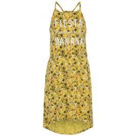 Name it Dievčenské šaty s potlačou - žlté