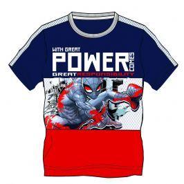 Disney by Arnetta Chlapčenské tričko Spiderman - modro-červené