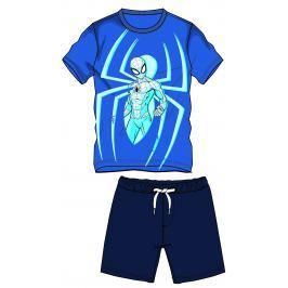 Disney by Arnetta Chlapčenský komplet trička a kraťasov Spiderman - modrý