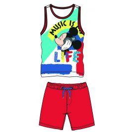 Disney by Arnetta Chlapčenský komplet  tielka a kraťasov Mickey Mouse - farebný