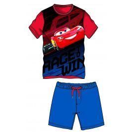Disney by Arnetta Chlapčenský komplet trička a kraťasov Cars - farebný