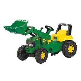 Rolly Toys Šliapací traktor Rolly Junior John Deere s predným nakladačom