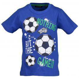 Blue Seven Chlapčenské tričko Futbal - modré