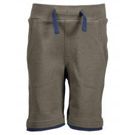 Blue Seven Chlapčenské kraťasy - hnedé khaki