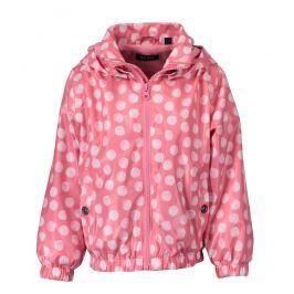 Blue Seven Dievčenská bodkovaná bunda - ružová