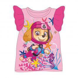 Disney Brand Dievčenské tielko Paw Patrol - ružové
