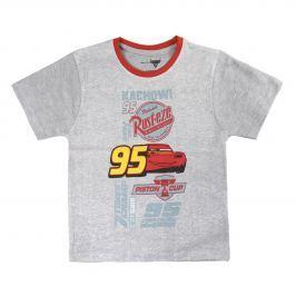 Disney Brand Chlapčenské tričko Cars 3 - šedé