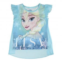Disney Brand Dievčenské tielko Frozen - modré