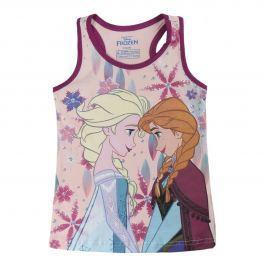 Disney Brand Dievčenské tielko Frozen - ružové