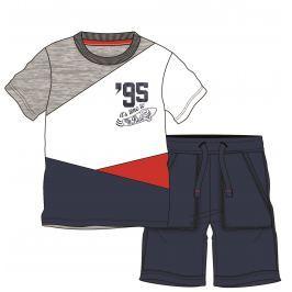 Mix 'n Match Chlapčenský komplet trička a kraťasov - farebný