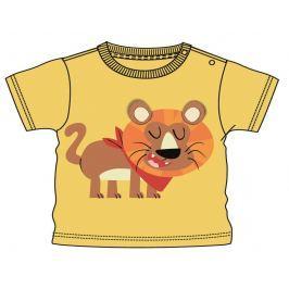 Mix 'n Match Chlapčenské tričko s levom - oranžové