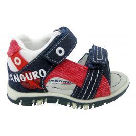 Canguro Chlapčenské sandále - modro-červené