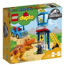 LEGO® DUPLO® JurassicWorld 10880 T. rex a veža