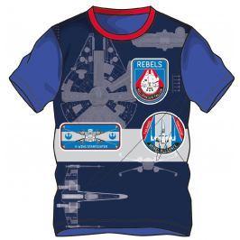 Disney by Arnetta Chlapčenské tričko Star Wars - modré