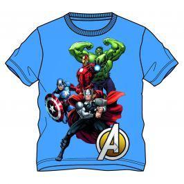 Disney by Arnetta Chlapčenské tričko Avengers - modré