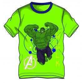 Disney by Arnetta Chlapčenské tričko Avengers - zelené