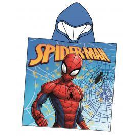 Disney by Arnetta Chlapčenské pončo Spiderman - modré