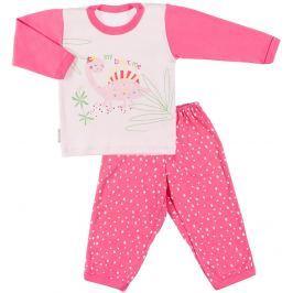 Ewa Klucze Dievčenské pyžamo Little Moon - ružová