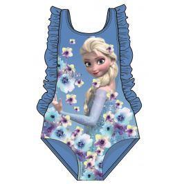 Disney by Arnetta Dievčenské jednodielne plavky Frozen - modré