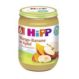 HiPP NIE BIO Jablko s mangom a banánmi 6x190g NOVINKA