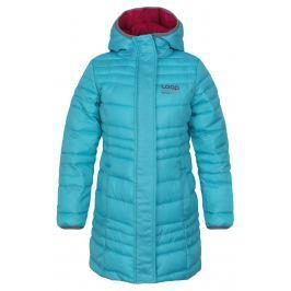 LOAP Dievčenský prešívaný kabát Urzika - modrý