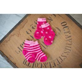 Blade & Rose Dievčenská súprava 2 párov ponožiek - ružová