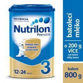 Nutrilon dojčenské mlieko 3 Pronutra 800g