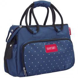 Badabulle Prebaľovacia taška BOHO Dark Blue
