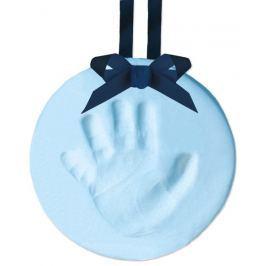 Pearhead Odtlačok nožičky - závesná ozdoba, modrá