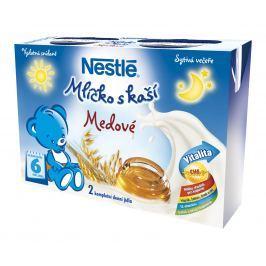 Nestlé Mliečko s kašou Medové, 2x200ml