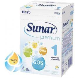 Sunar dojčenské mlieko Premium 1, 600g
