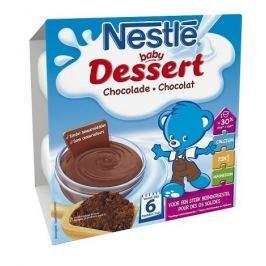 Nestlé Dezert čokoládový, 4x100g