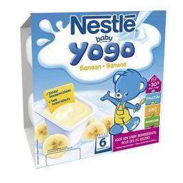Nestlé Baby Yogo banán, 4x100g