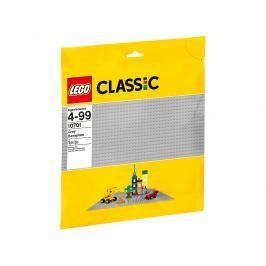 LEGO® Classic 10701 Sivá podložka na stavanie
